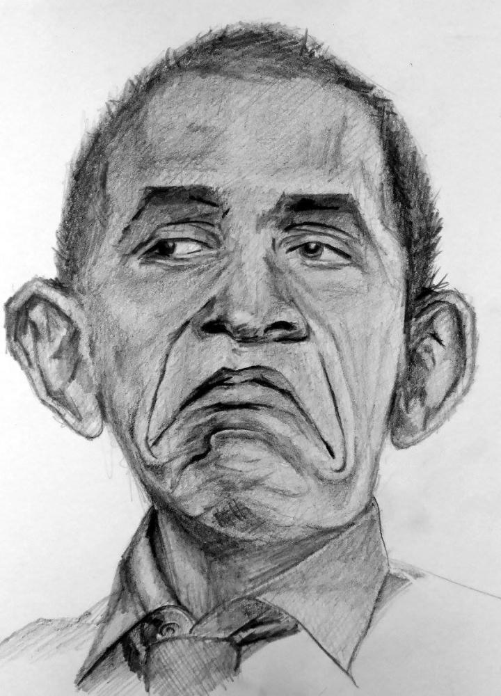 Barack Obama by linshyhchyang